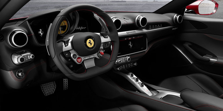 2018 ferrari california replacement. exellent california on the inside portofino features 102inch main touchscreen in  centre of dashboard and a partially disguised infotainment  and 2018 ferrari california replacement i