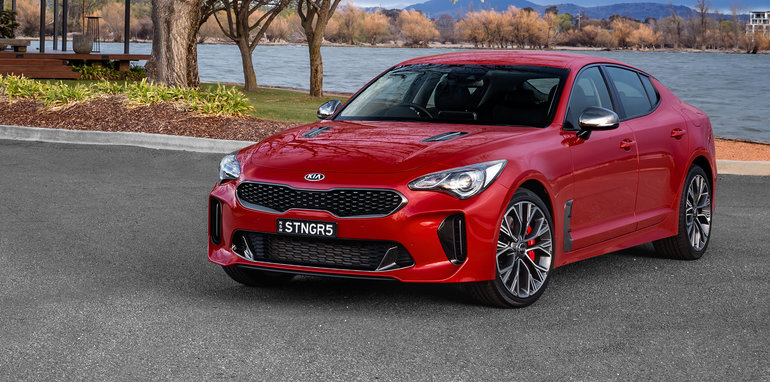 2018 kia stinger. exellent stinger stepping up to the stinger si 200 52990 330 55990 adds a suite of  driver assistance systems like autonomous emergency braking aeb  inside 2018 kia stinger
