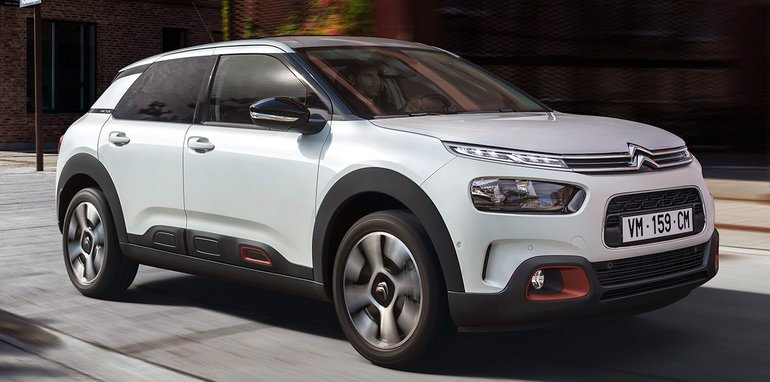 2019 citroen c4 cactus facelift unveiled. Black Bedroom Furniture Sets. Home Design Ideas