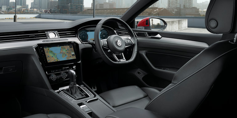 2018 volkswagen arteon price. contemporary 2018 thereu0027s also a new theme for the active info digital driveru0027s display and  unique rline seats while other standard kit includes adaptive cruise control  for 2018 volkswagen arteon price i