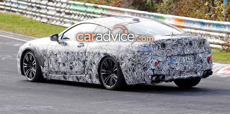 2018 bmw m8. modren bmw amount of camouflage on the prototype in these images though we can  expect production version to look something a mix between m8 gte racer on 2018 bmw m8