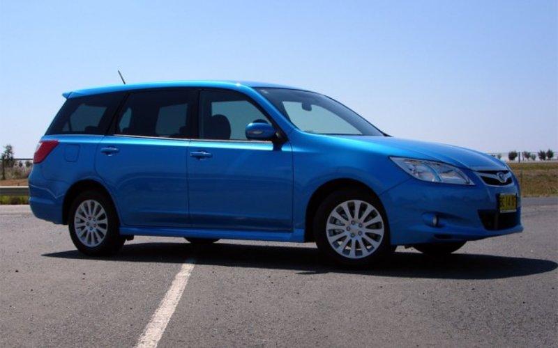 Subaru Liberty Exiga Review  Road Test  CarAdvice