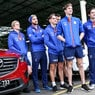 Mazda and Driver Dynamics take North Melbourne Kangaroos to school
