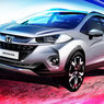 Brazil's new Honda WR-V previewed in jazzy sketch