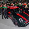 Mini celebrates three million cars at Oxford plant