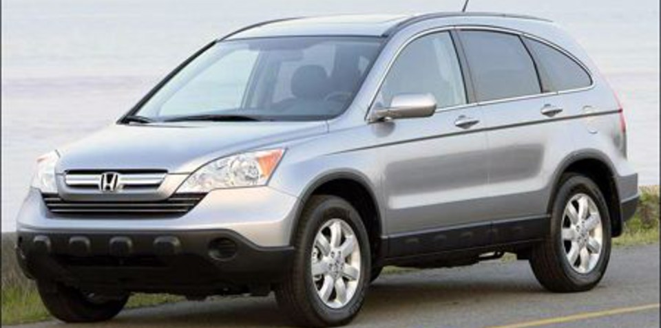 Honda CRV 2007 Official Photos