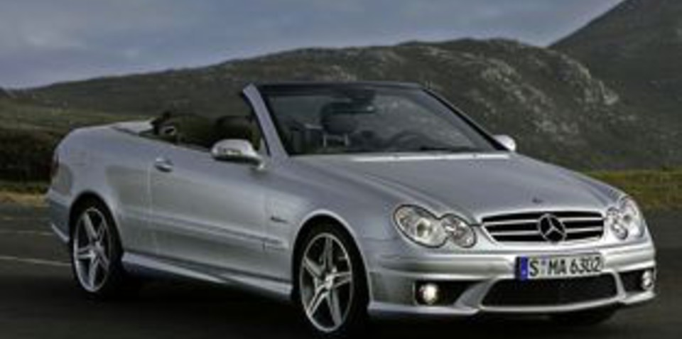 mercedes benz clk 500 clk 63 amg. Black Bedroom Furniture Sets. Home Design Ideas