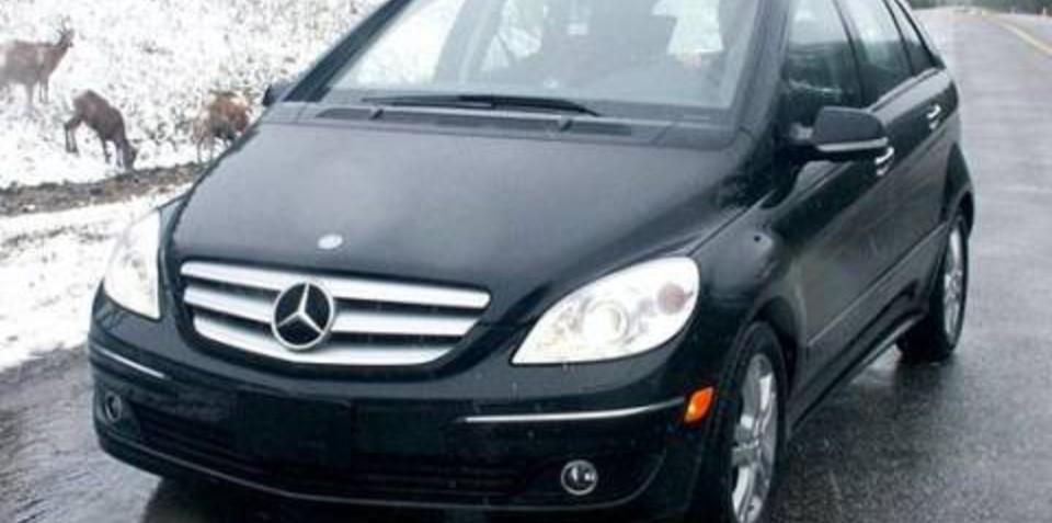 Mercedes benz b class recieves five star safety rating for Mercedes benz safety rating