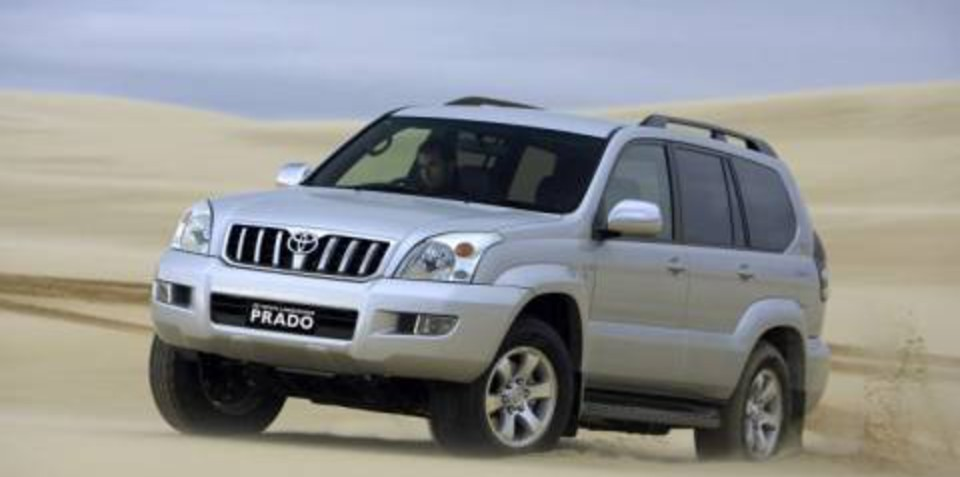 2007 Toyota LandCruiser Prado Turbo-Diesel GX, GXL, VX and Grande