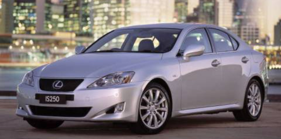 2007 Lexus IS250 five star safety rating