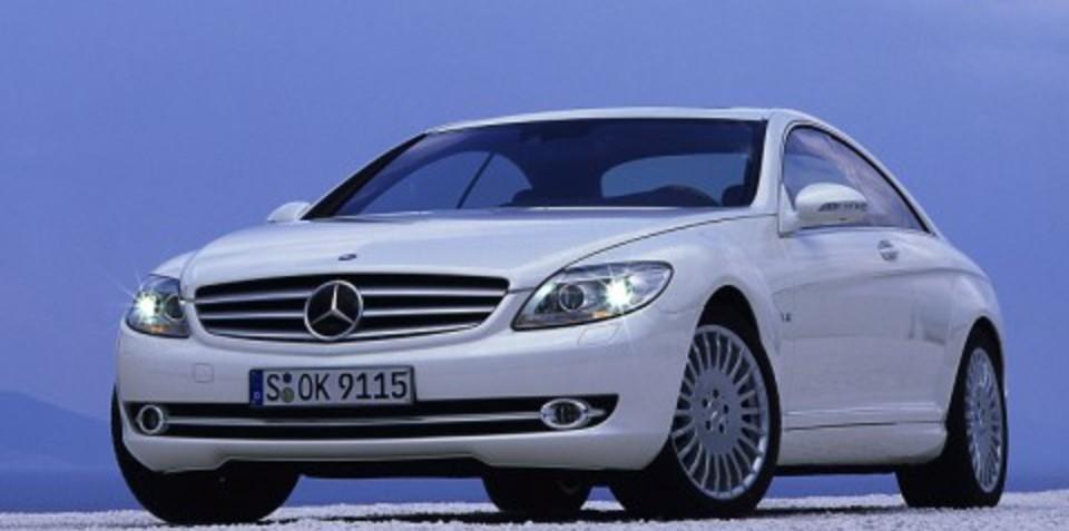 2007 Mercedes-Benz CL-Class CL 500 CL 63 AMG CL 600