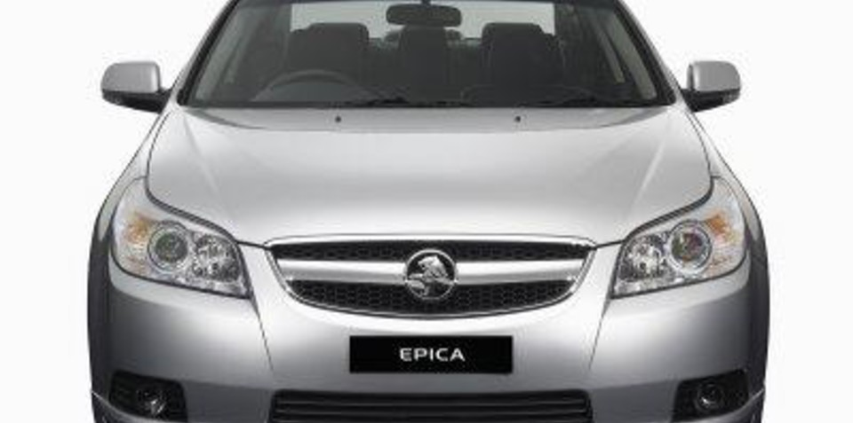 Holden Epica - Don't like it? Bring it back! If you can