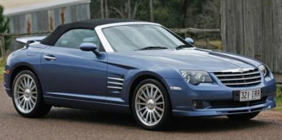 Chrysler Crossfire Becomes a Collectors Item