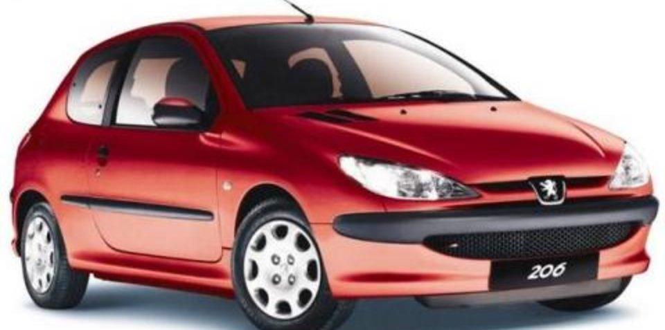Peugeot 206 307 engine coolant temperature sensor recall