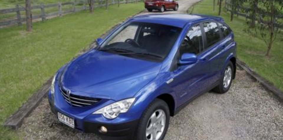 2007 SsangYong Actyon Sports Utility