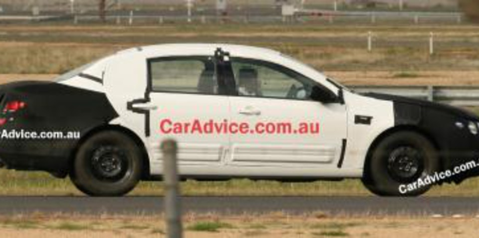 Latest Ford Falcon Orion Spy Shots
