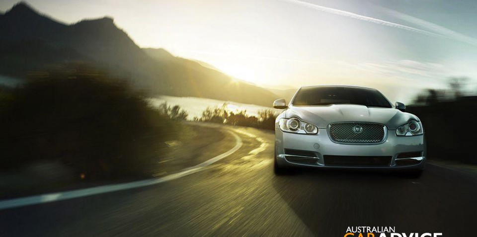 The New 2008 Jaguar XF