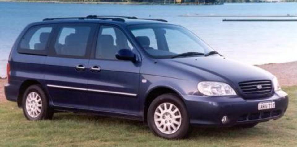 2003 Kia Carnival Warranty Complaint