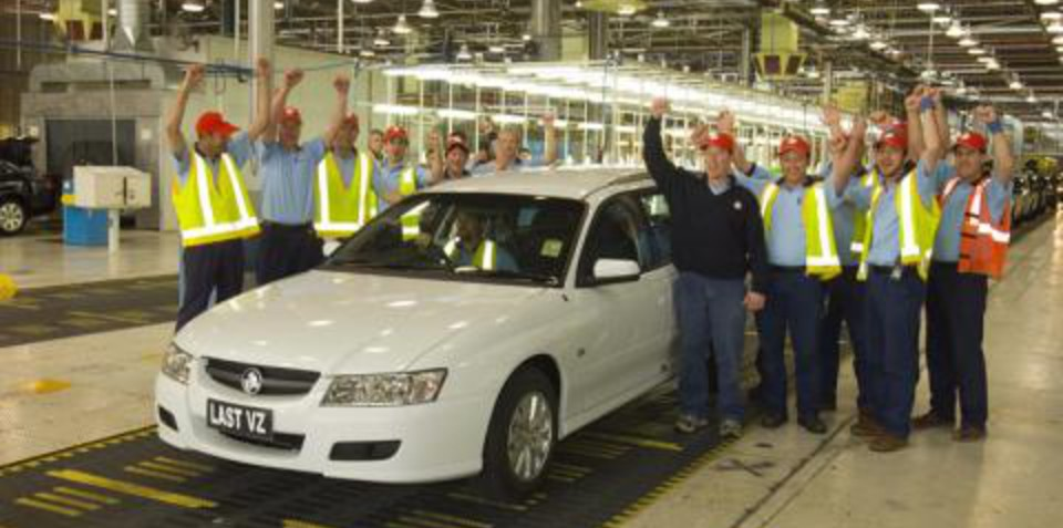 Last Commodore VZ Rolls Off The Line
