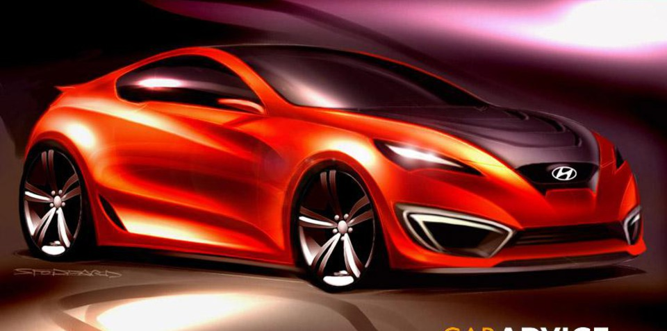 Hyundai Genesis Coupe official preview