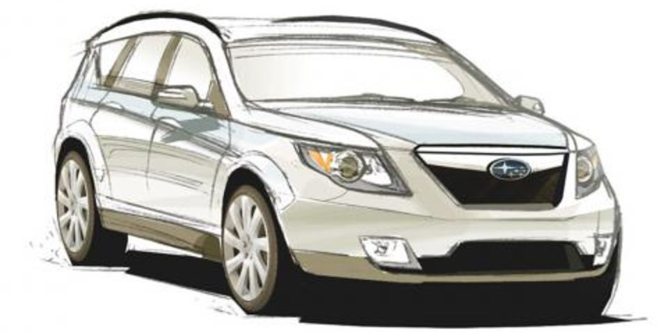 2009 Subaru Forester sneak preview