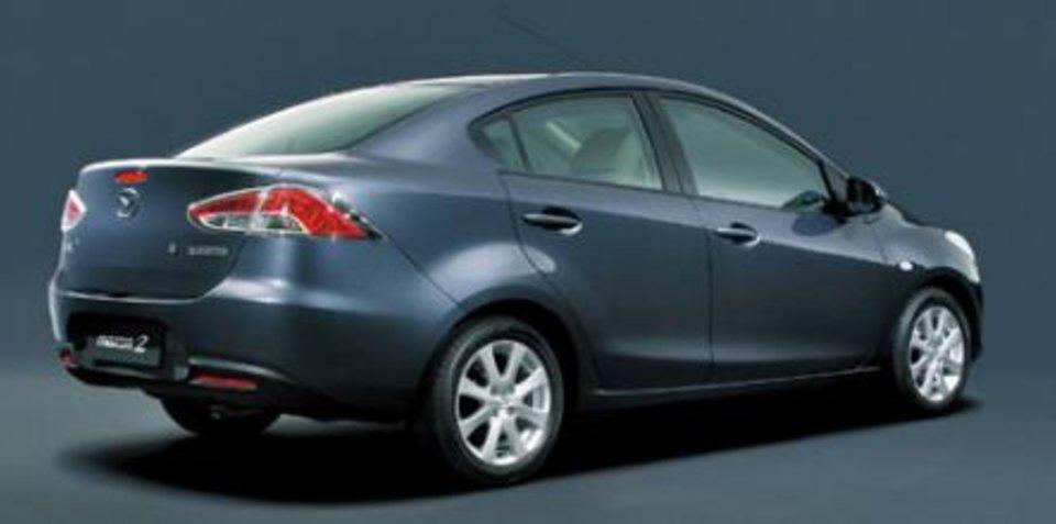 2008 Mazda2 Sedan revealed