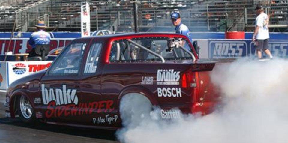 Diesel runs 8 second quarter mile