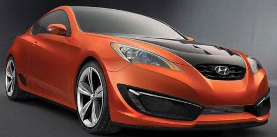 Hyundai Genesis Coupe goes turbo