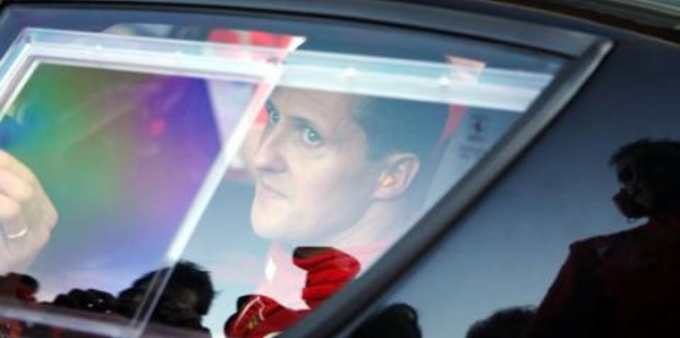 Michael Schumacher drives a cab - part two