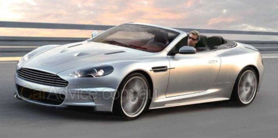 Aston Martin DBS Volante CGI