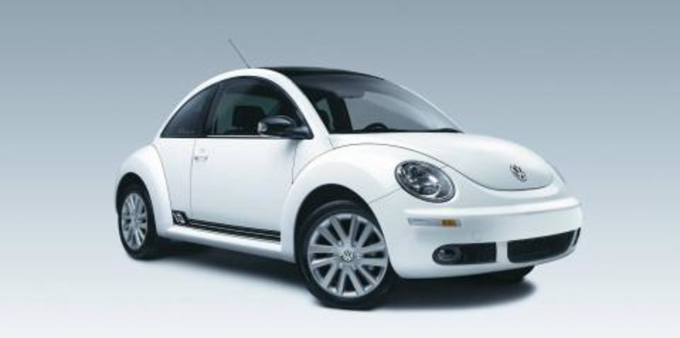 2008 Volkswagen Beetle 10th Anniversary Edition