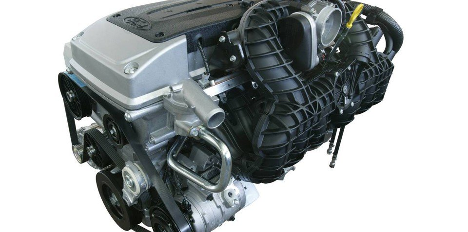 2008 Ford Falcon engine line-up