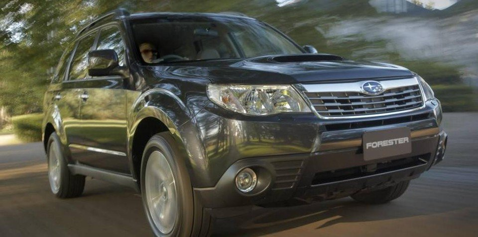 2009 Subaru Forester specifications