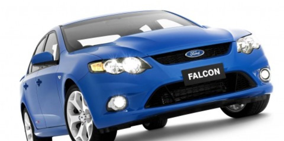 New Ford Falcon spotted in U.S.