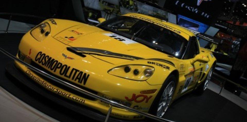 Corvette stand 2008 Geneva Motor Show