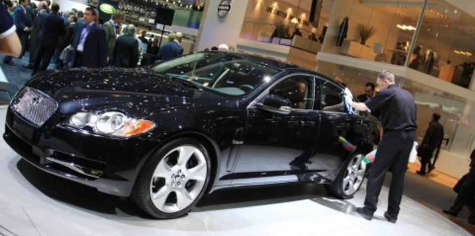 Jaguar stand 2008 Geneva Motor Show