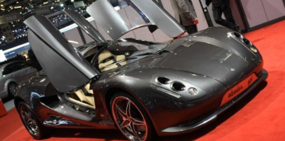 SBARRO Alcador GTB 2008 Geneva Motor Show