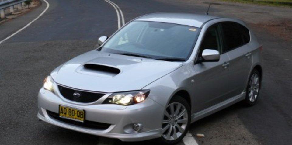 Subaru suspends 2.5-litre turbo sales