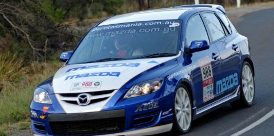 Targa Tasmania off to a flying start