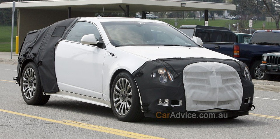 2009 Cadillac CTS Coupe spied