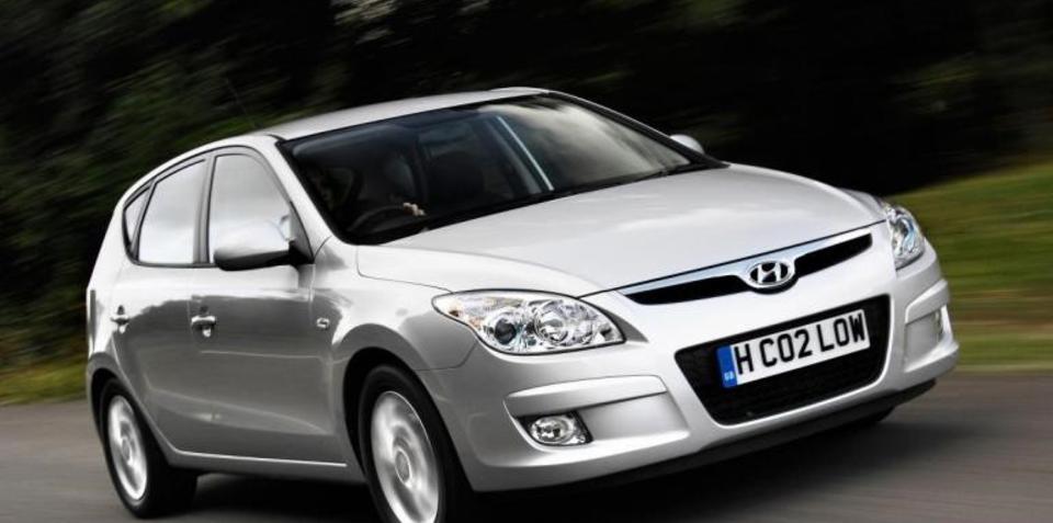 Hyundai I Blue Low Emissions Range