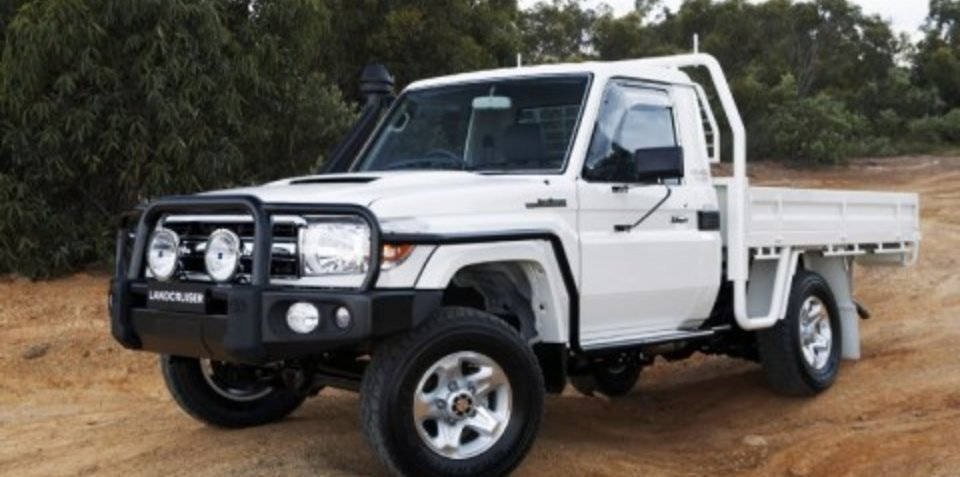 Toyota adds LandCruiser 70 Series to capped price servicing program