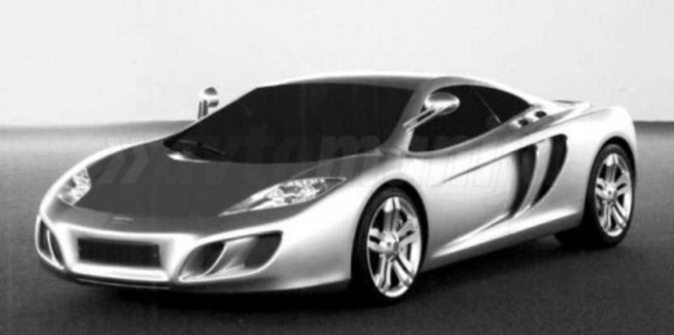 Modern McLaren F1 rendered speculation