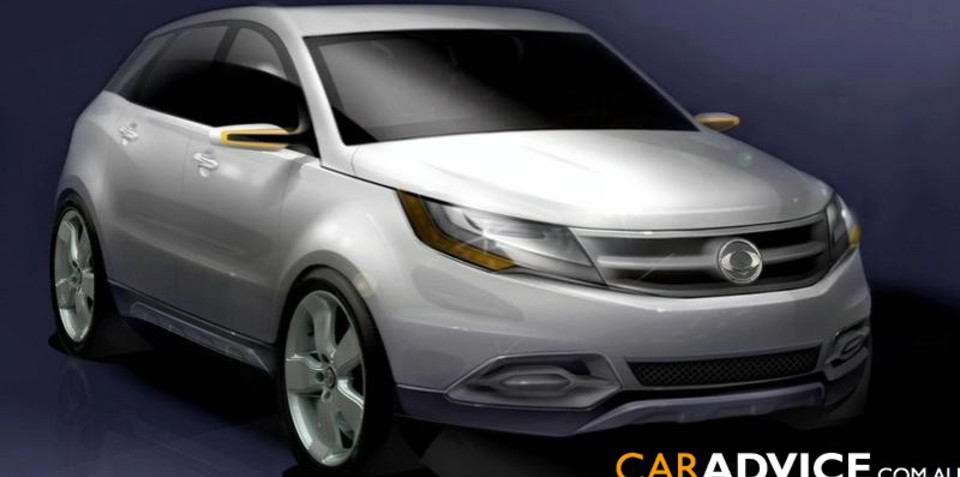 SsangYong C200 Concept breaks tradition