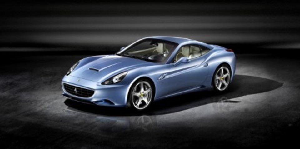 Ferrari California to debut in Sydney