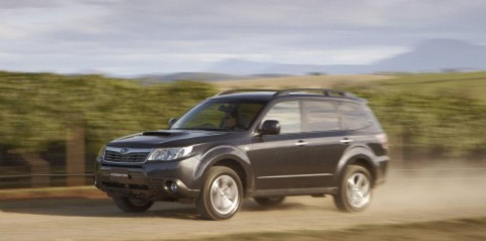 Subaru Forester wins US Sport Utility of the Year