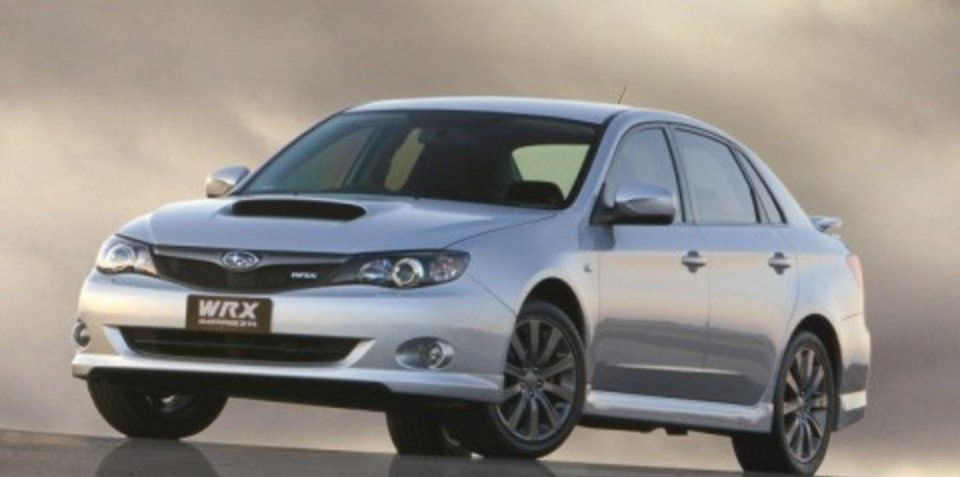 2009 Subaru WRX Sedan & Hatch