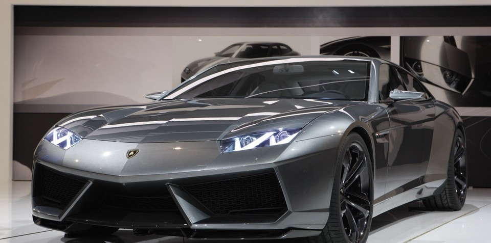 Lamborghini Estoque Four Door Concept Leaked