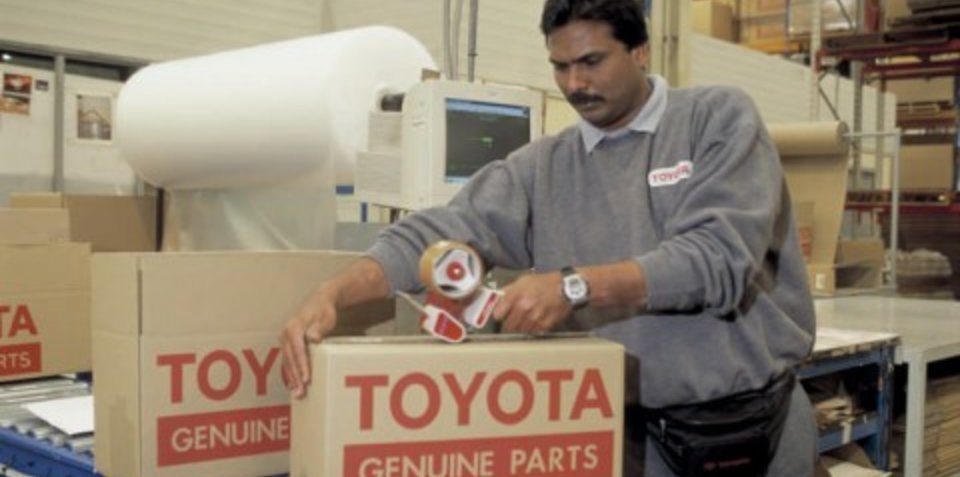 Toyota gets tough on counterfeit parts