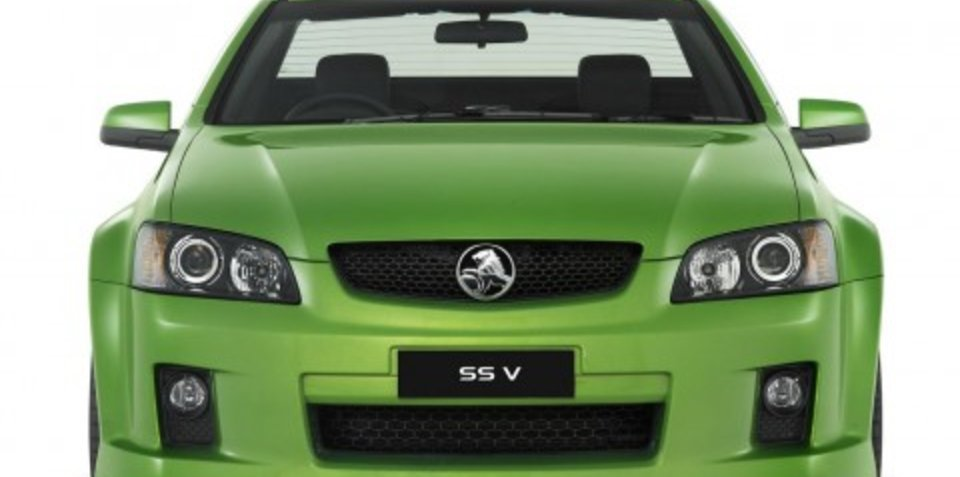 2009 Holden VE & WM specification changes